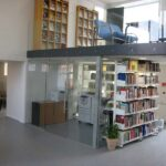 Silkeborg handelsskole glasdøre