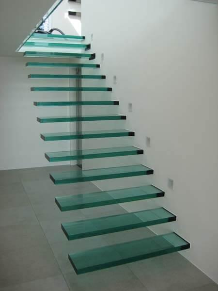 Svævende trappe