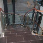 Bøjet glas til trappe
