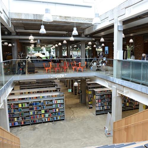 Herning Bibliotek Glasløsning