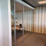 glasvægge til Mødelokale