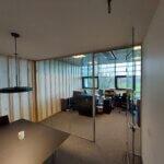 Mødelokale med glasvæg