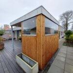 Glas Læværn terrasse