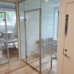 Naturstyrelsen Randbøl - lydisolerede indvendige glasvægge og døre. (5)